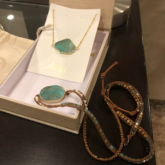 d73576854 Aria Lattner Jewelry - Aria Lattner necklace only.